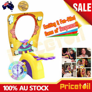 OZ New Pie Face Game Family Fun Filled Rocket Board Party Game Suspense Gift Toy