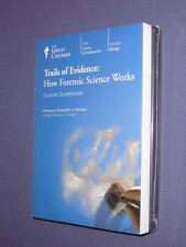 Teaching Co Great Courses DVDs  :       TRAILS OF EVIDENCE FORENSIC SCIENCE  new