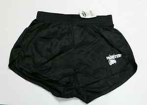 HOOTERS GIRLS AUTHENTIC SEXY BLACK UNIFORM SHORTS - SMALL - S - NEW WITH TAGS