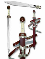 "38"" Maximus Roman Gladiator Sword Gladius With Scabbard Brand New"