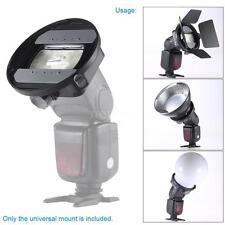 CA-SGU Flash Speedlite Mount Adapter Bracket Accessories for Nikon Canon Godox