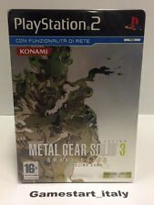METAL GEAR SOLID 3 SNAKE EATER METAL EDITION (PS2) NEW PAL VERSION