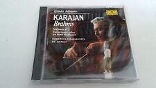 """KARAJAN """"BRAHMS SINFONIE 1, VARIACIONES SOBRE UN TEMA DE HAYDN"""" CD 428 118-2"""