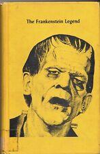 THE FRANKENSTEIN LEGEND Donald F. Glut 1973 hardcover 1st ed. ex-libr