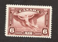 #C5 - Canada -  Air Mail - 1935 - 6 Cent stamp - MNH  - F/VF - superfleas