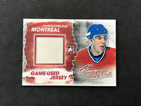 2012-13 ITG FOREVER RIVALS CHRIS CHELIOS GAME-USED MEMORABILIA JERSEY RED #M-28