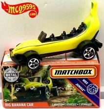 MATCH BOX 2020 MBX JUNGLE BIG BANANA CAR