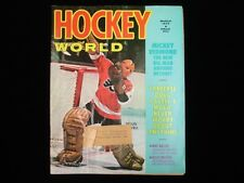 March 1972 Hockey World Magazine - Doug Favell Cover