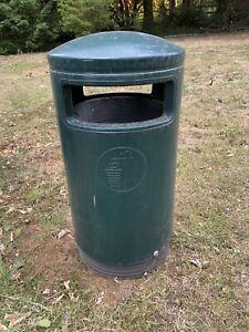 Large Capacity Plastic Outdoor Street Litter Bin