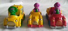 Vintage 1993 The Lyons Group Die Cast Barney and Baby Bop Cars (3)