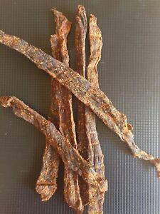 Chili 🌶 Bytes, Trockenfleisch, Biltong, BeefJerky
