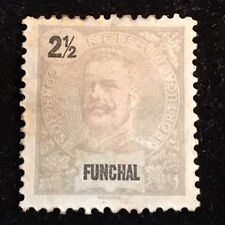 1896 Funchal Postage Stamp Unused