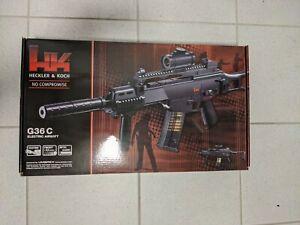 Heckler & Koch HK G36C Air soft Gewehr Elektrisch mit Schalldämpfer G36 OVP