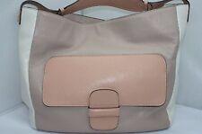 New Marc Jacobs Angela Hobo Ivory Bag Shoulder Handbag Leather