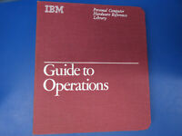 Vintage IBM Guide to Operations Personal Computer XT Manual 2.02