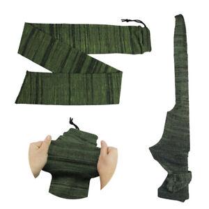 "Green 54"" Silicone Treated Gun Sock Rifle Shotgun Airgun Hunting Storage Case"