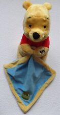 WINNIE POOH NICOTOY DISNEY Bär Teddy Teddybär Schmusetier Schmusetuch WIE NEU *