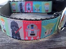 Star Wars Dog collar, star wars characters dog collar, star wars inspired ribbon