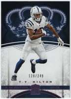 2017 Panini Crown Royale Football Pink /249 #26 T.Y. Hilton Colts