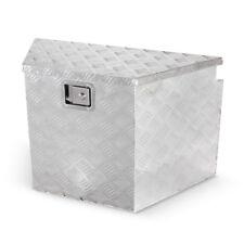 "Trailer Tongue 29"" Diamond Plate Aluminum Tool Box For Truck Pickup Storage"