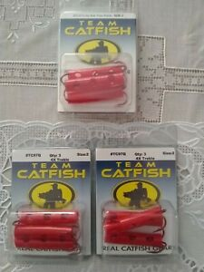 Team Catfish #TC97Q, Size 2, 3/Pack, Lot Of 3 Packs