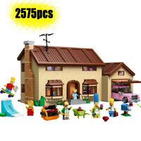LEGO COM. MATTONCINI CASA SIMPSON HOUSE CON 6 PERSONAGGI HOMER MARGE LISA BART
