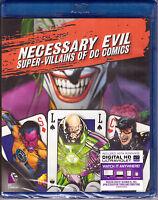 Necessary Evil: Super Villains of DC Comics [Blu-ray + Digital, 1-Disc] NEW