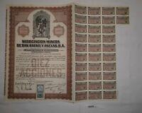 10 Aktien à 50 Centavos Negociacion Minera de San Rafael y Anexas 1923 (128235)