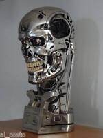 TERMINATOR GENISYS T800 BUSTO 1:1 LED endoscheletro cranio skull arnold T 800 T2