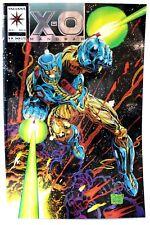X-O Manowar #0 Chromium Foil Joe Quesada Valiant Comics Comic VF