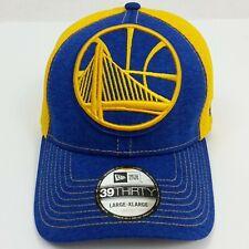 New Era 39THIRTY Golden State Warriors Hat Large-XLarge