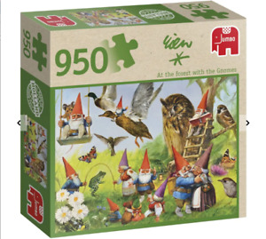 David the Gnome Rien Poortvliet Jigsaw Puzzle 950pc Forest with the Gnomes NEW