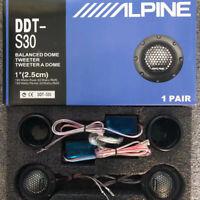 "NEW ALPINE DDT-S30 25MM 1"" SOFT DOME BALANCED CAR TWEETERS 360W & CROSSOVERS"