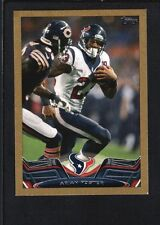 ARIAN FOSTER 2013 TOPPS MINI #230 GOLD PARALLEL TEXANS SP #39/58