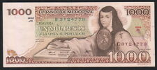 MEXICO 1000 Pesos 29/06/1979 (Juana de asbaje), Series JC E3Y24779, Pick-70c UNC