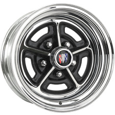 "BR1510 15x10 Buick Rallye | 5x4 3/4"" bolt | 5.00"" backspace | Chrome finish"