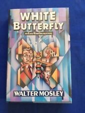 WHITE BUTTERFLY - FIRST EDITION REVIEW COPY BY WALTER MOSLEY