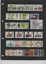 GB 1980 Commemorative Year set Unmounted Mint