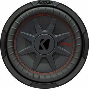 "2 KICKER 48CWRT104 10"" 4 Ohm DVC CompRT Subwoofer - Black"