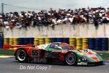 Weidler & Herbert & Gachot Mazda 787B Winner Le Mans 1991 Photograph 1