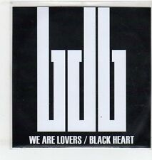 (ET328) Black Diamond Bay, We Are Lovers / Black Heart - 2012 DJ CD