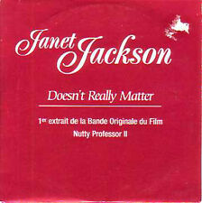☆ CD Single Janet JACKSON Doesn't really matter promo ☆
