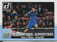 Donruss Soccer 2015 Int. Superstars Chase Card #3 Angel Di Maria