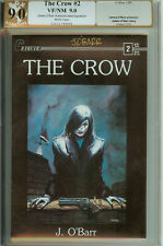 Caliber The Crow #2 PGX (not CGC) 9.0 Signed James O'Barr