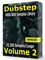 35,300+ Dubstep Samples WAV Loops Dubstep Volume 2 Drums Synths Bass Arps Subs