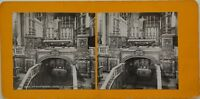 Roma st Mary Principali L Altare Foto Stereo Vintage Analogica