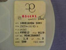 100 Atc 100b1r8dw500x 18pf 5pf 500v Rf Microwave Capacitors