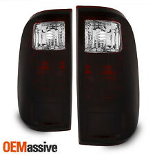 Fit Smoked 2008-2016 Ford F250 F350 F450 F-Series Superduty Tail Lights Lamps