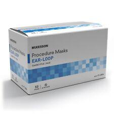McKesson Procedure Mask Pleated 50 per Box 91-2004