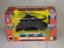 Blue Hat Toy Company Black Out Lean Machine Radio Controlled Racing Motorcycle